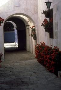 Santa Catalina Monastery Arequipa Peru 1980