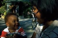 Scott and Imani at Butchart Gardens