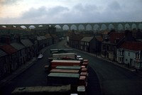 Scottish arches and trucks 1971