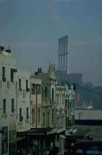 chimneys in Sydney Australia 1970