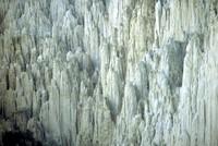 eroded spires