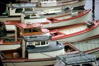 gillnet boats in Astoria 1974