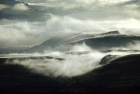 hills and clouds