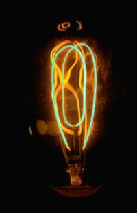 olden dc light bulb may still be burning in museum 1971