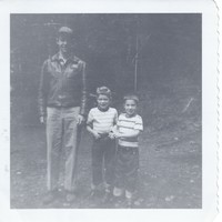 rb buzz eric bruce first day of kindergarten sep 1954 001