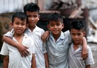 1970 04 05 Saigon kids 01