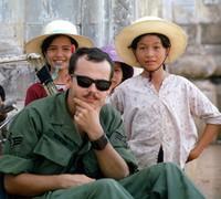 1970 07 26 Saigon kids and maybe Gary Smith 01