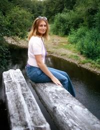 1974 08 11 Trudi on a bridge near Astoria 01
