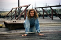 1974 08 11 Trudi on the dock in Astoria 01