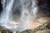 Yosemite waterfall pattern 01
