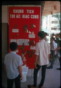 ss 036 07 21 viet cong atrocity display in saigon
